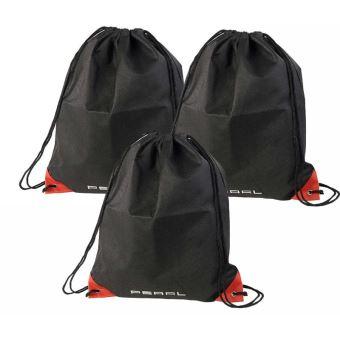 Mini sac 4 L avec cordelettes et coins renforcés - x3 Pearl D21lTsB