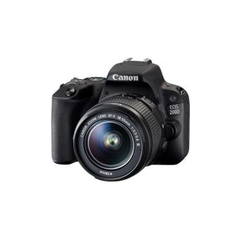 Canon EOS 200D - digitale camera EF-S 18-55 mm DC III-lens