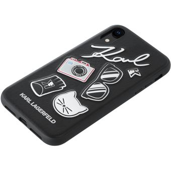 coque iphone xr lagerfeld