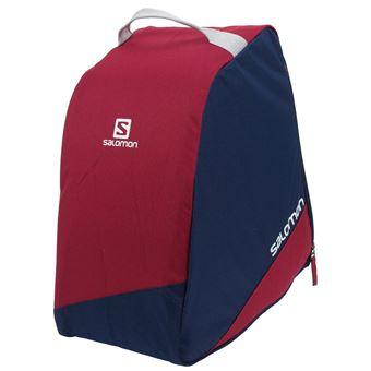 Sac chaussures de ski Salomon Original bootbag redblue Bleu