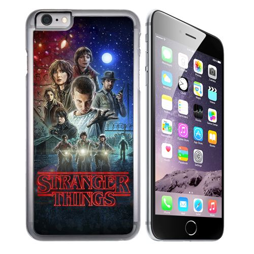 Coque pour iPhone 6 et iPhone 6S stranger things poster
