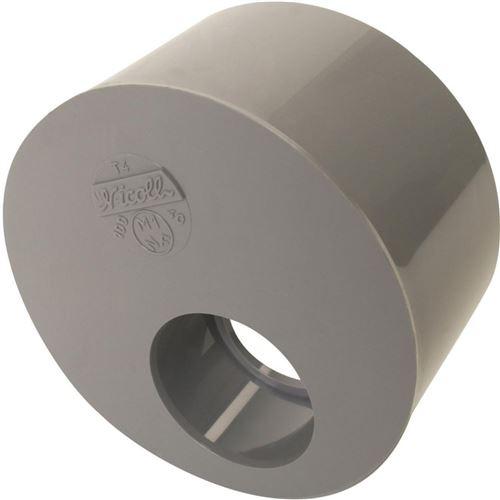 Tampon de réduction NICOLL mâle-femelle - Simple Ø100/40 mm - T4