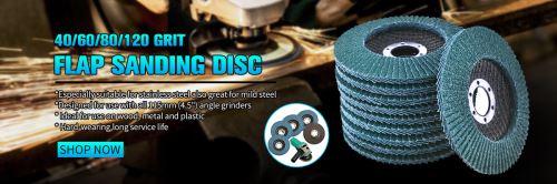 1pcs 80 disques de rabat de meules de grain 115mm 4.5 120 mesh