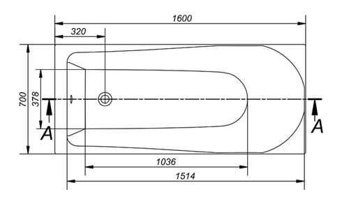 Baignoire Rectangulaire 160x70 Flavia Sans Tablier Installations Salles De Bain Achat Prix Fnac