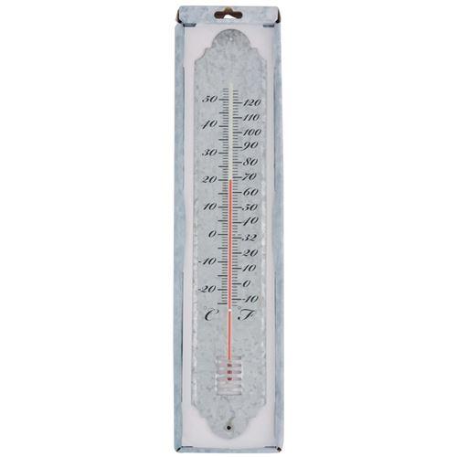 Grundig Jardin Thermomètre aussenthermometer Thermomètre avec lampe solaire DEL NEUF