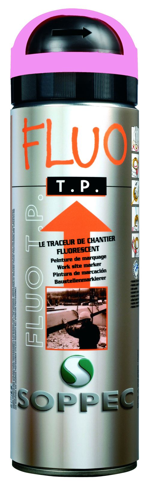 Traceur De Chantier Violet Fluo Soppec- 141520