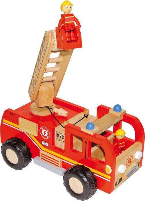 Camion De Pompiers Avec Échelle