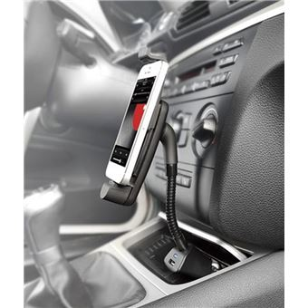 Support Voiture Allume Cigare 2 en 1 pour SAMSUNG Galaxy S9 + Smartphone Android Micro USB Reglable Universel Chargeur
