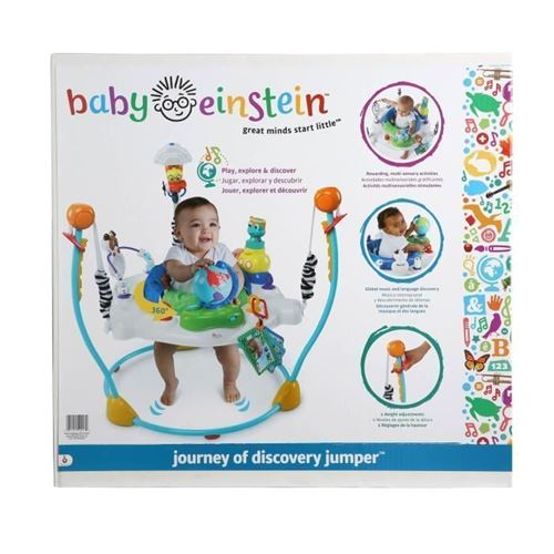 BABY EINSTEIN Trotteur Journey of Discovery Jumper - Multicolore