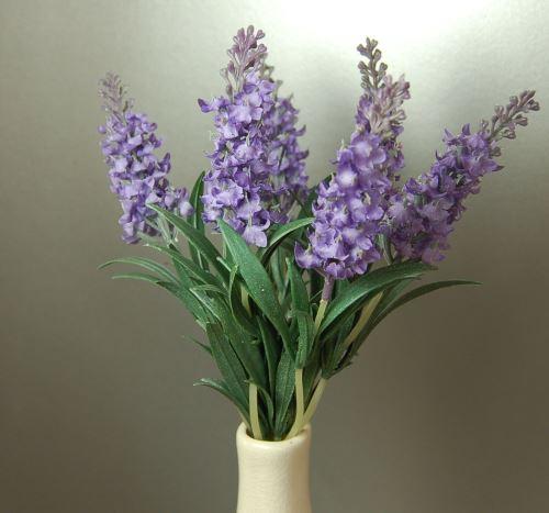 Bouquet de six tiges de lavande