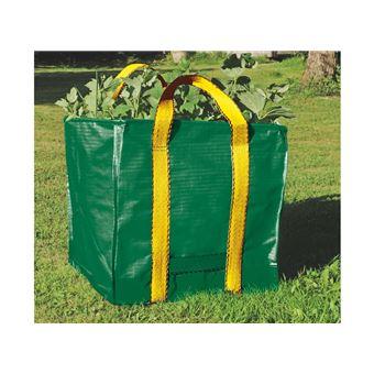 Sac à ordures de jardin résistant réutilisable sacs poubelle imperméable