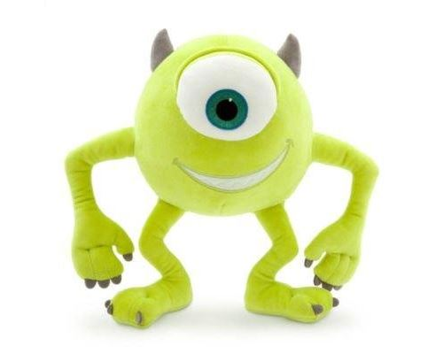 Official Disney Monsters Inc 30cm Mike Soft Plush Toy