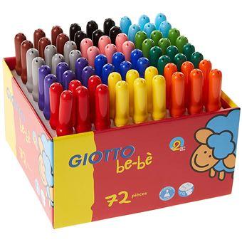 Giotto 10272 Feutre Coloriage Bebe Maxi School Pack Lavable Capu