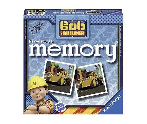 Memory bob le bricoleur 72 cartes - ravensburger 4-99 ans