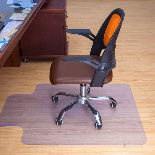 Nouveau 48x 36 pouces 1,5mm Bureau épais PVC Accueil Utilisation Chaise Tapis de sol pour carreaux bois