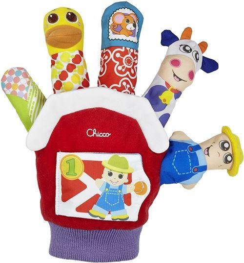 Chicco marionnette de ferme junior coton/pluche taille unique