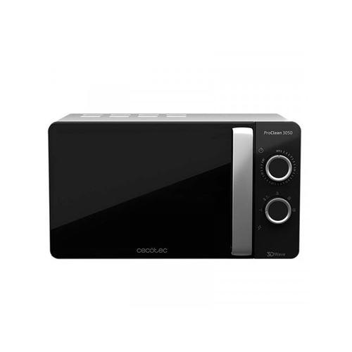 Cecotec ProClean 3050 - Four micro-ondes monofonction - pose libre - 20 litres - 700 Watt - argent
