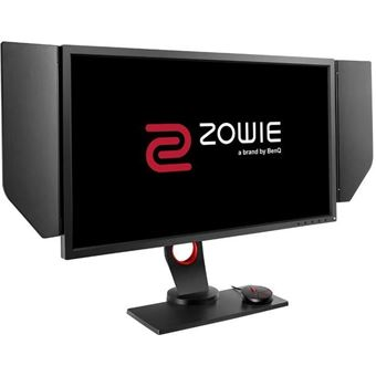 """BenQ ZOWIE XL2740 - eSports - XL Series - LED-monitor - 27"""" - 1920 x 1080 Full HD (1080p) - TN - 400 cd/m² - 1000:1 - 1 ms - 2xHDMI, DVI-D, DisplayPort - grijs"""