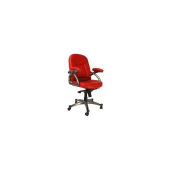 chaise Enzo bureau rouge Fauteuil de design Achatprix H2ED9WI