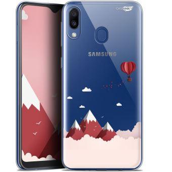 Coque Gel Samsung Galaxy M20 (6.3 ) Extra Fine - Montagne En Montgolfière