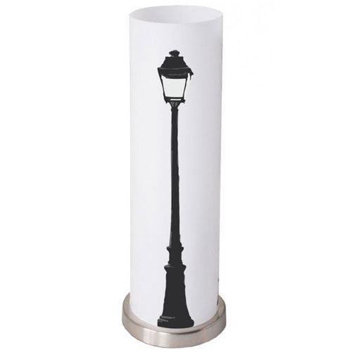 Lampe tube bi-matière Réverbère 50 cm