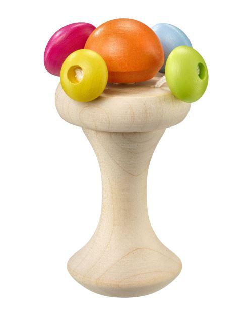 Selecta Spielzeug hochet & gobelet 12 Carellocm bois naturel