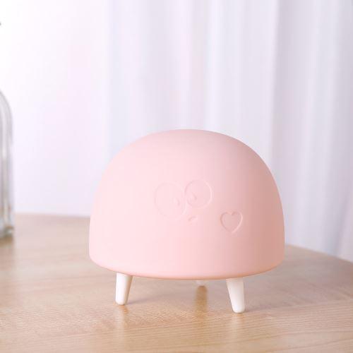 LED Lights nuit pour les enfants, bébé silicone animal mignon avec capteur Décoloration wedazano741