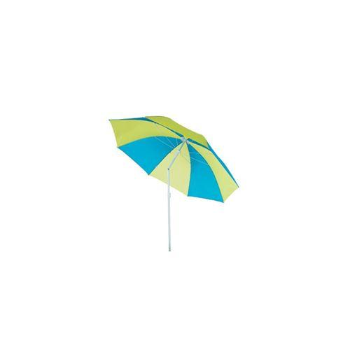 Parasol de plage rond - Cachira - D180 cm - Modèle aléatoire