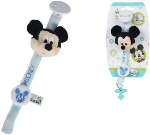 Simba - Accroche tétine hochet Mickey