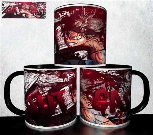 Mug collection design - Black Cover Burakku kuroba 344