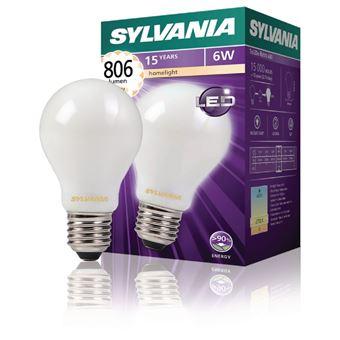 Lm Filament Syl 0027131 Gls Rétro 6 Led 2700 À W K Lampe Sylvania E27 806 E9WHID2