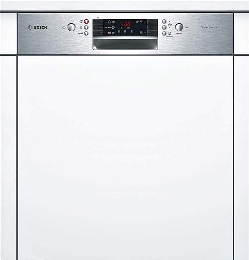 Bosch Serie   4 SuperSilence SMI45IS04E - Lave-vaisselle - intégrable - Niche - largeur : 60 cm - profondeur : 55 cm - hauteur : 81.5 cm - acier inoxydable