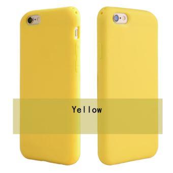 coque iphone 6 couleur jaune