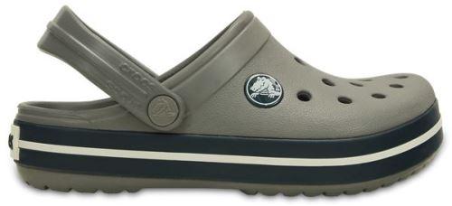 Crocs crocband enfants sabots <strong>chaussures</strong> sandales en smoke gris bleu marine 204537 05h