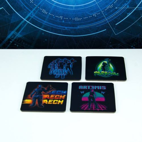 Prêt Player One 3D Coasters