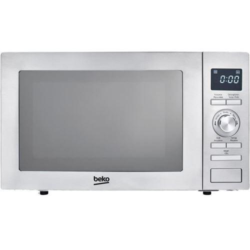 Beko MOF28310X - Four micro-ondes grill - pose libre - 28 litres - 900 Watt - miroir/inox