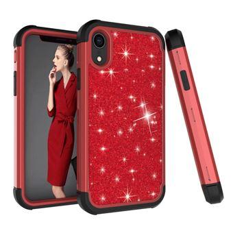 coque antichoc rouge iphone xr