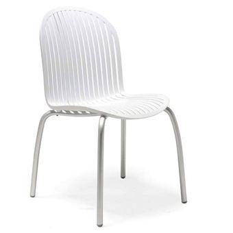Chaise design de jardin & terrasse ninfea dinner nardi