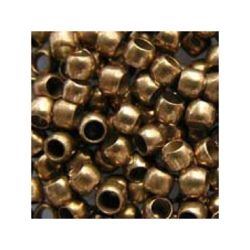 dtm loisirs creatifs - perles a ecraser dorees x60