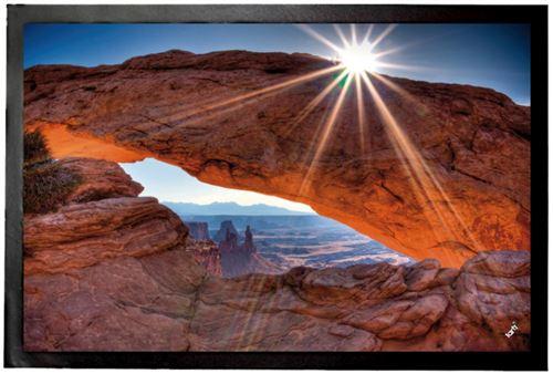 Gorges Paillasson Essuie-Pieds - Soleil De Midi Sur Mesa Arch Au Parc National De Canyonlands USA (40x60 cm)