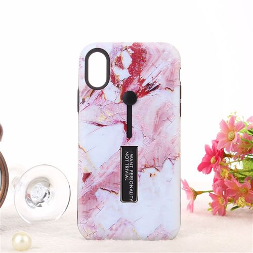 accroche coque doigt iphone xr