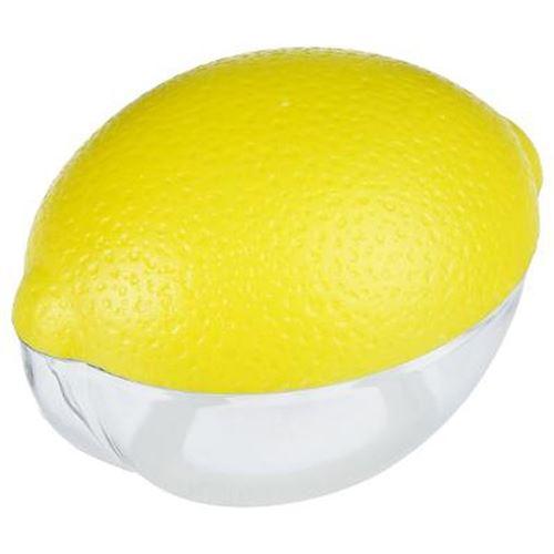 Boîte de Conservation Citron 12cm Jaune
