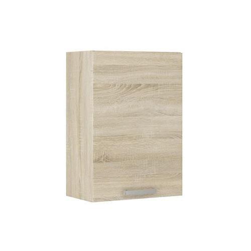 LASSEN Meuble haut de cuisine L 40 cm - Decor chene clair Sonoma