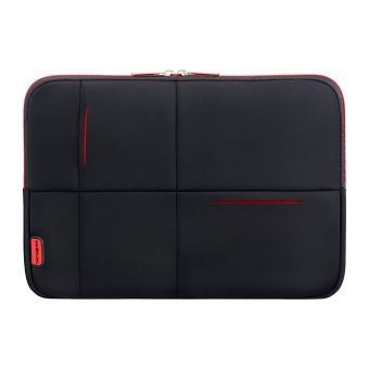 "SAMSONITE AIRGLOW LAPTOP SLEEVE 14.1"" BLACK/RED"