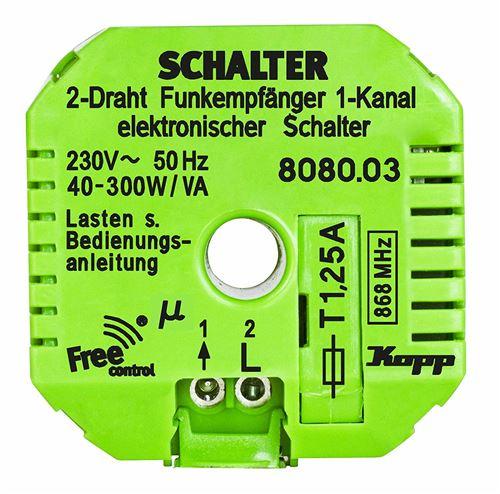 Kopp Free Control Funk-receiver Free Control 2-voie