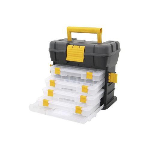 Boîte à outils avec compartiments Parma Bricotech (27 x 16 x 26 cm)