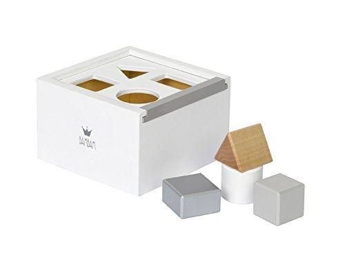 BamBam ragoût moulé bois Block Boxjunior blanc 5 pièces