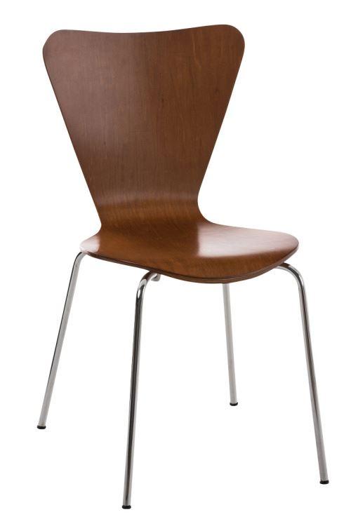 Chaise empilable Calisto , Marron