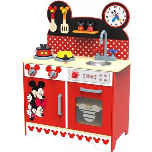 Disney cuisine de jouets Mickey Mouse 83 cm bois rouge/noir