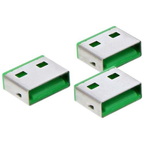 20pcs InLine® Recharge pour Portblocker USB